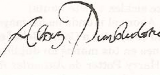 Firma de Albus Dumbledore