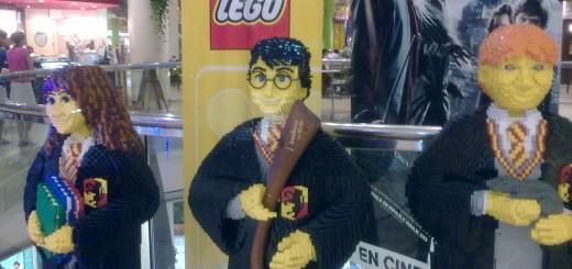 Legos Gigantes de Hermione, Harry y Ron