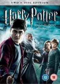 Portada del DVD  de 'Harry Potter y el Misterio del Príncipe'
