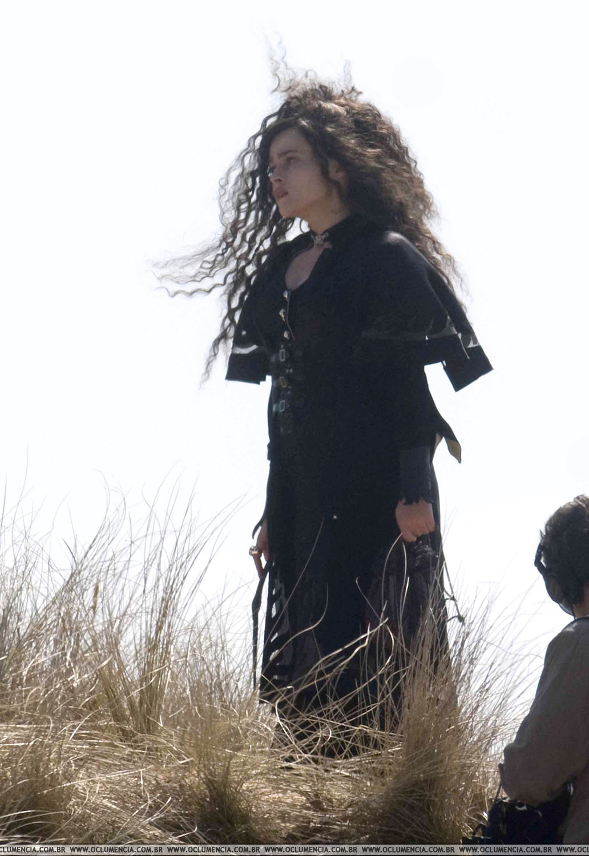 La bruja de Blair Helena-Bonham-rodaje