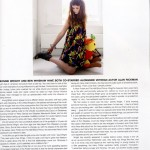 Bonnie Wright en la revista No