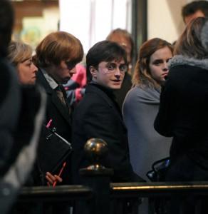 Rodaje de Harry Potter y las Reliquias de la Muerte