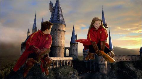 Quidditch Parque Tematico Harry Potter