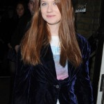 Bonnie Wright en fiesta de InStyle UK