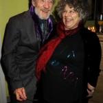Ian McKellen junto a Miriam Margolyes