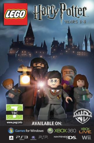 Harry Potter Lego Cover