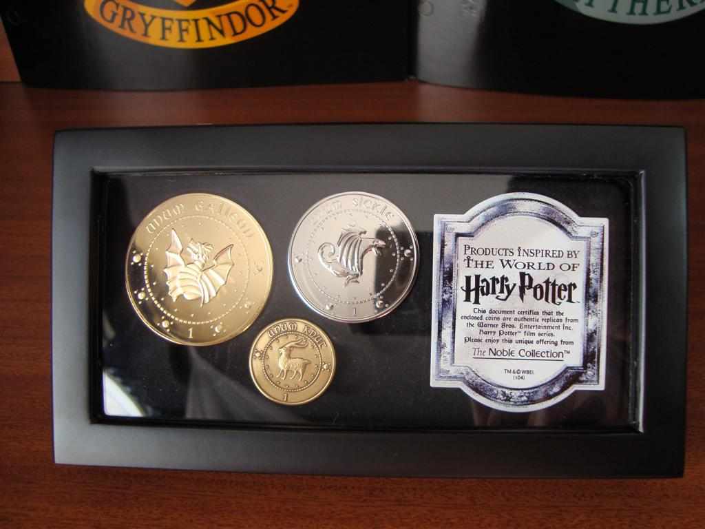 Monedas de Harry Potter