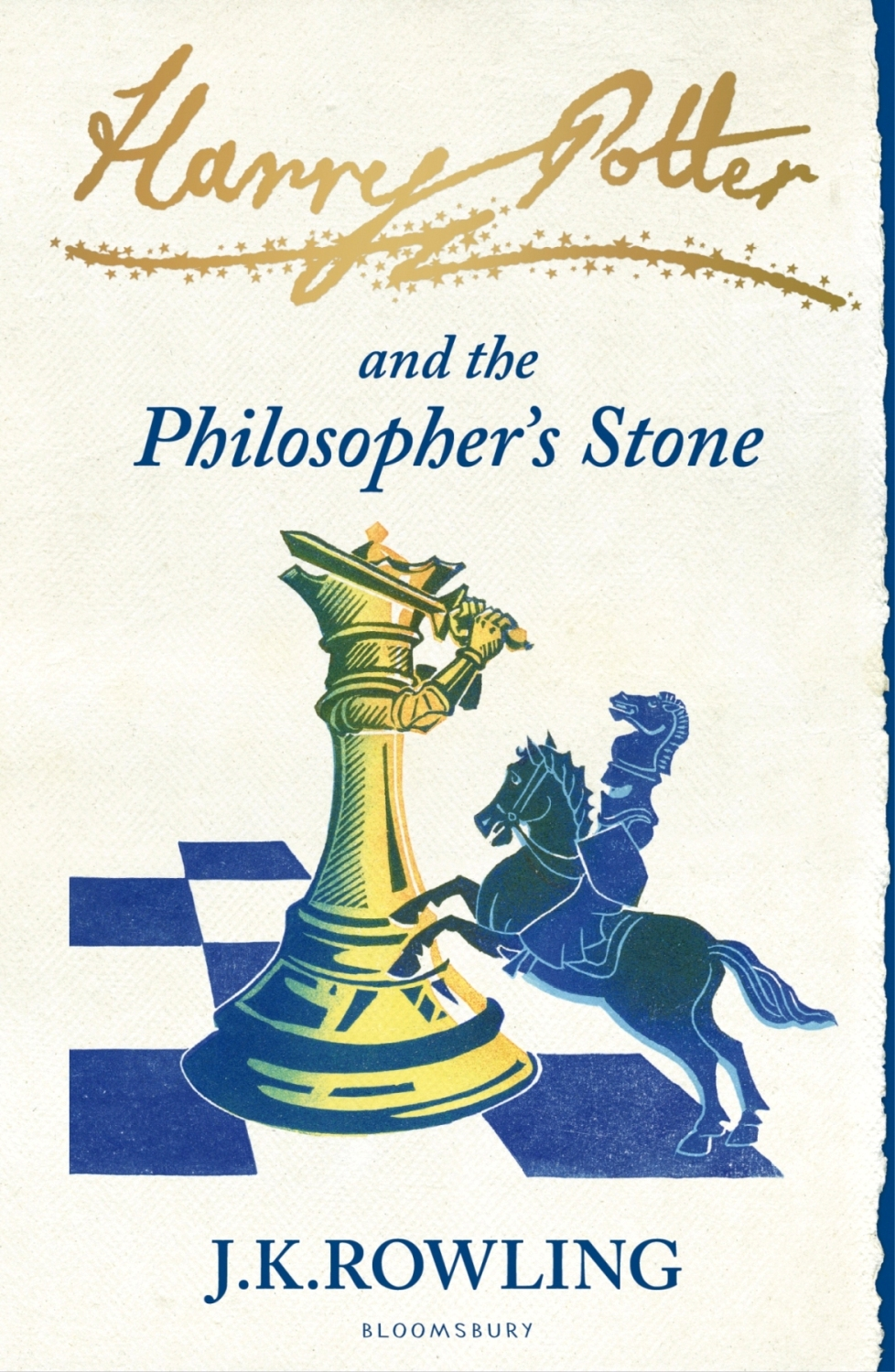 Harry Potter & the Philosopher´s Stone New Cover