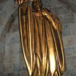Estatua en Hogwarts
