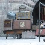 Maletas de estudiantes de Hogwarts
