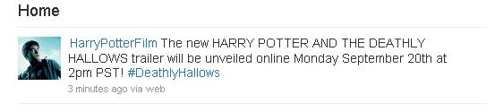Harry Potter 7 Trailer Rumor