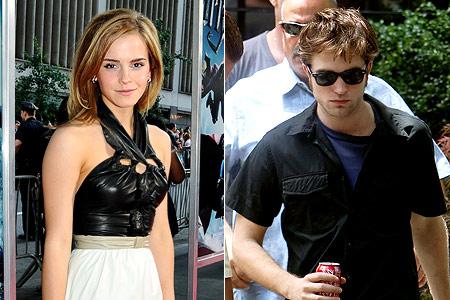 Harry Potter Emma Watson Robert Pattinson