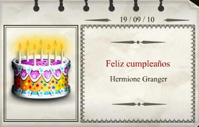¡¡Feliz Cumple Hermione Granger!!