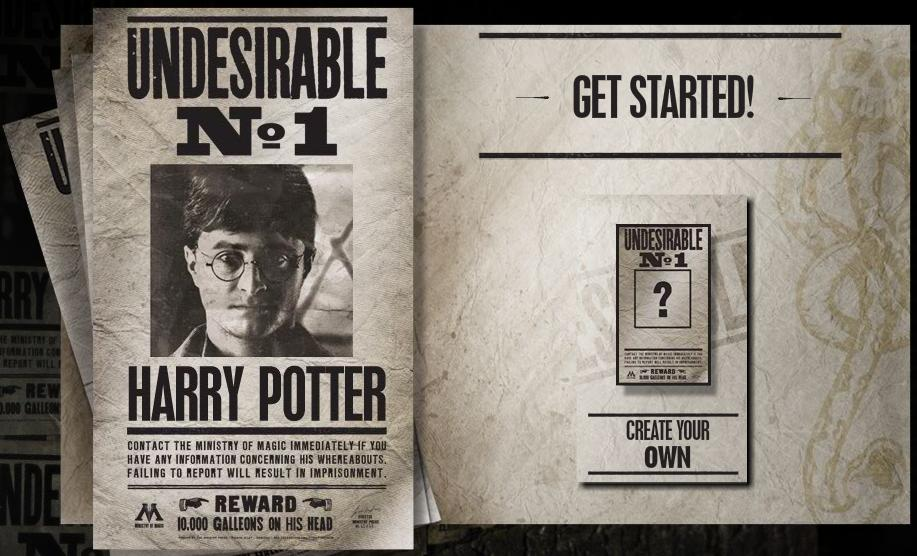 Harry Potter y las Reliquias de la Muerte Undesirable