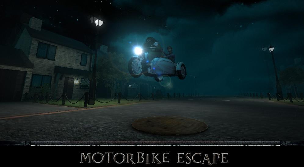 Harry Potter BlogHogwarts Motorbike Escape
