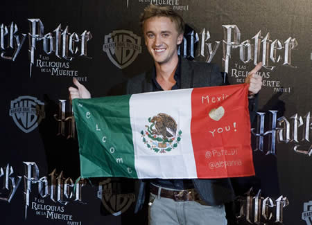 Harry Potter BlogHogwarts Tom Felton