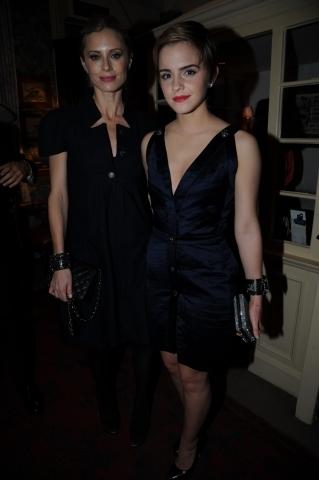Emma Watson at Finch & Partners pre-BAFTA party