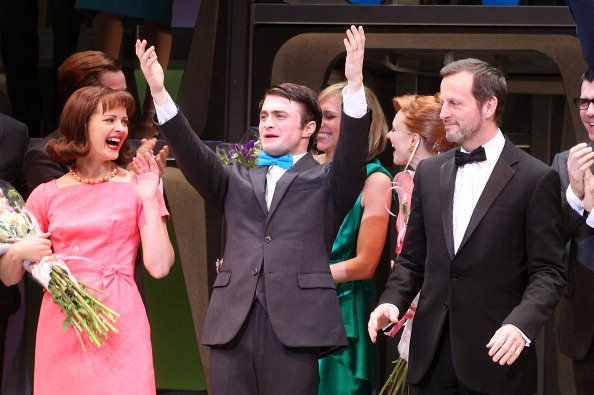 """How To Succeed In Business Without Really Trying"" Broadway Opening Night - Arrivals & Curtain Call"