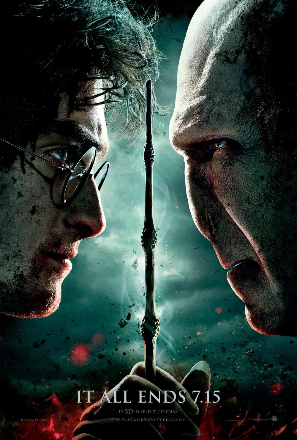 Harry Potter BlogHogwarts Poster HP7 II