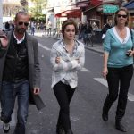 Emma Watson On Location In Paris - March 15, 2011