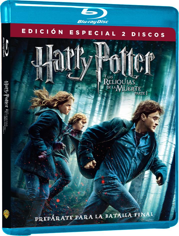Blu Ray Harry Potter y las Reliquias de la Muerte Parte II