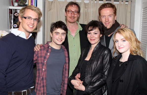 Celebrities Visit Broadway - April 3, 2011
