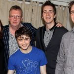 Celebrities Visit Broadway - April 5, 2011
