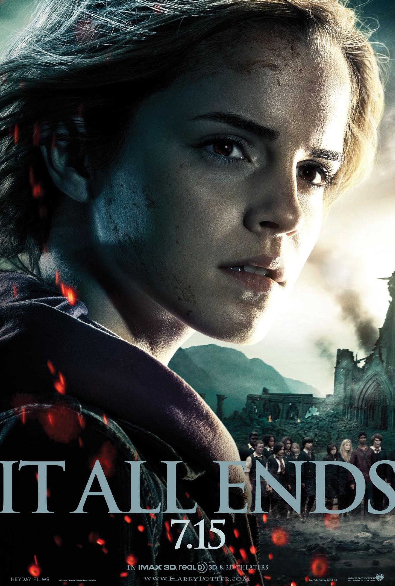 Harry Potter BlogHogwarts HP7 Poster 3