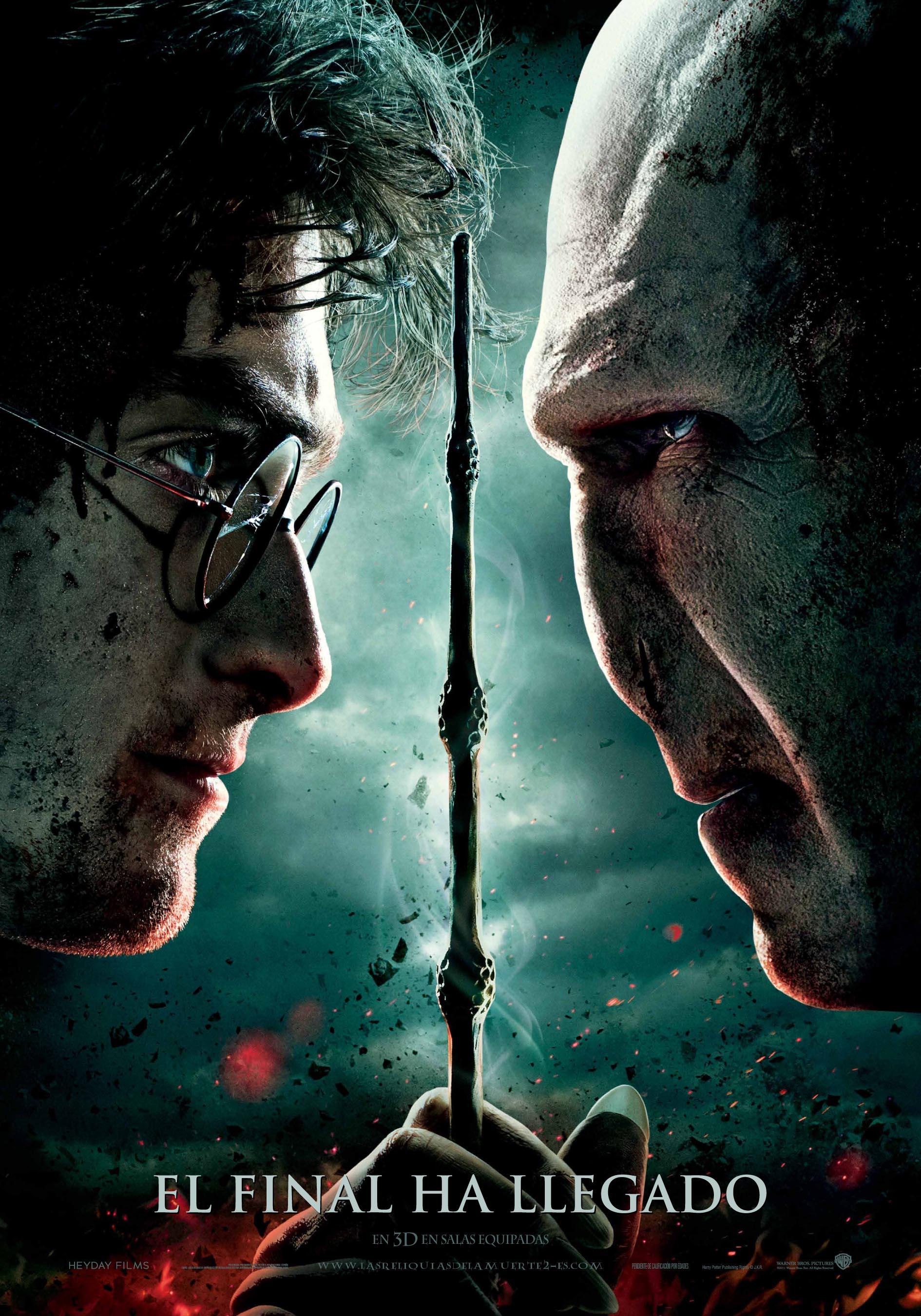 Harry Potter BlogHogwarts HP7 Poster Español