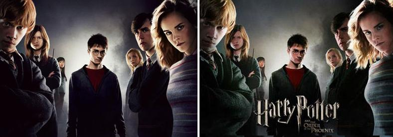 Harry Potter BlogHogwarts HP5 Posters