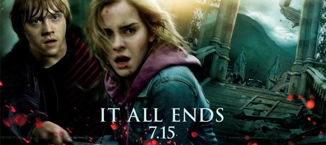 Harry Potter BlogHogwarts HP7 Banner