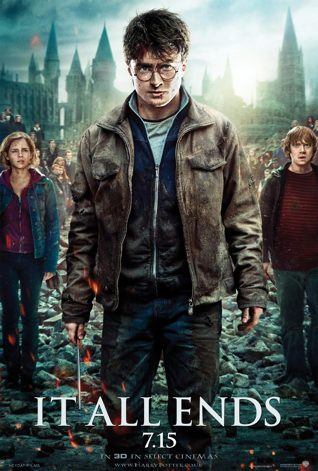 Harry Potter BlogHogwarts HP7 Parte 2 Poster Principal