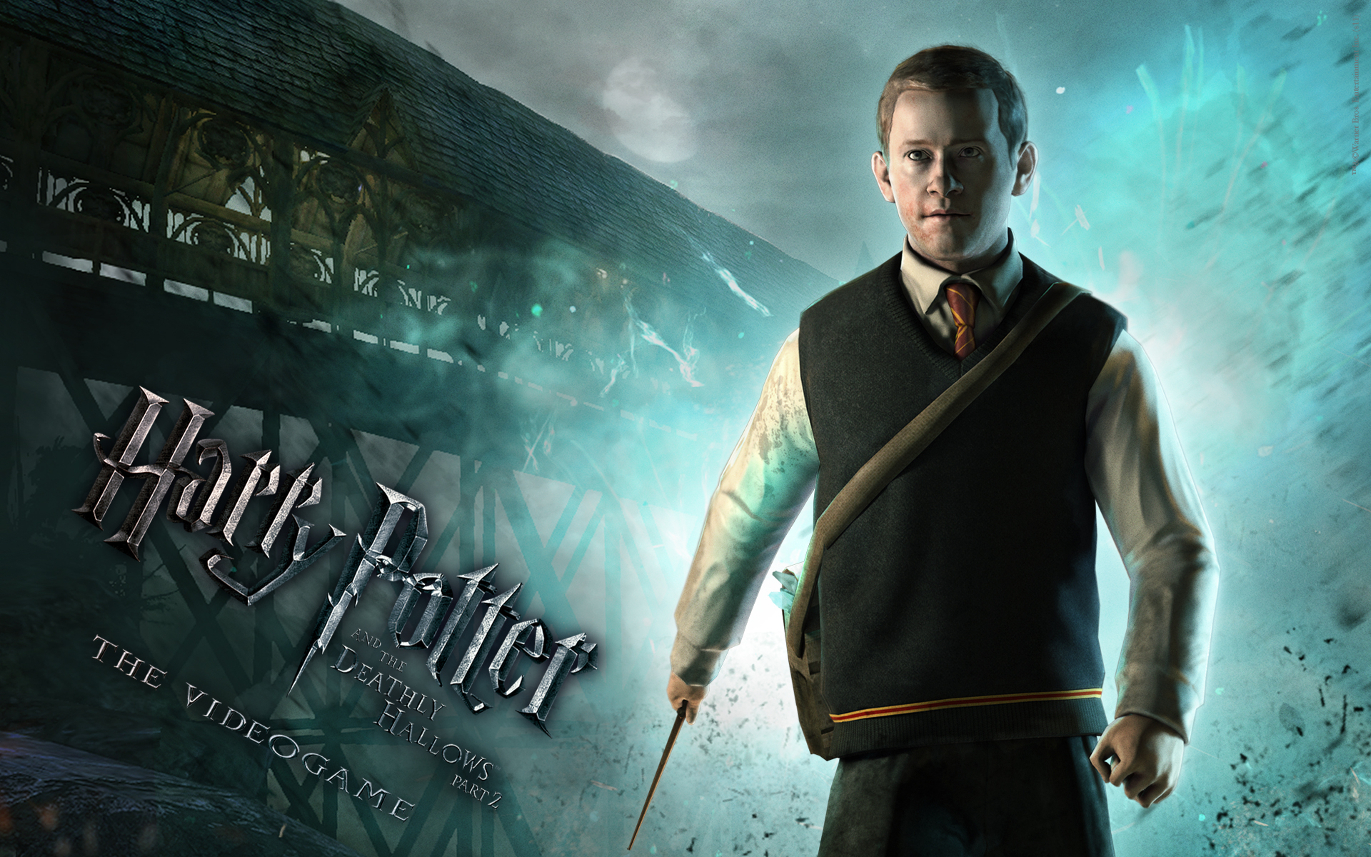 Harry Potter BlogHogwarts HP7 Seamus