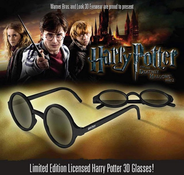Harry Potter BlogHogwarts Harry Potter 3D Glasses