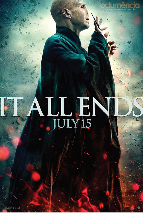 Harry Potter BlogHogwarts Lord Voldemort Poster