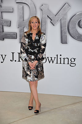 J.K. Rowling Pottermore website launch.