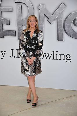 J.K. Rowling Pottermore website launch.
