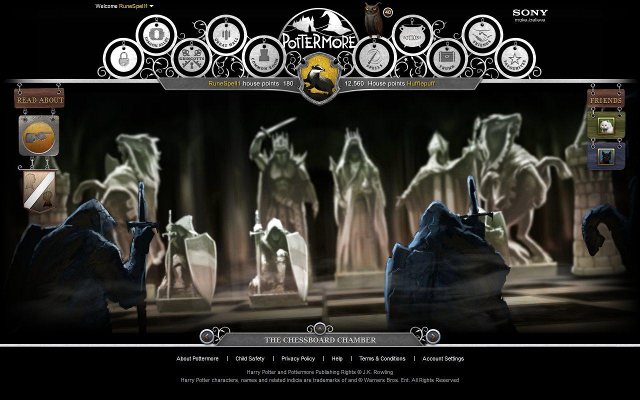 Pottermore Ajedrez