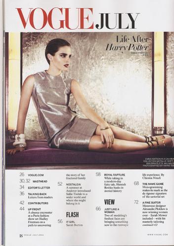 Harry Potter BlogHogwarts Vogue 02