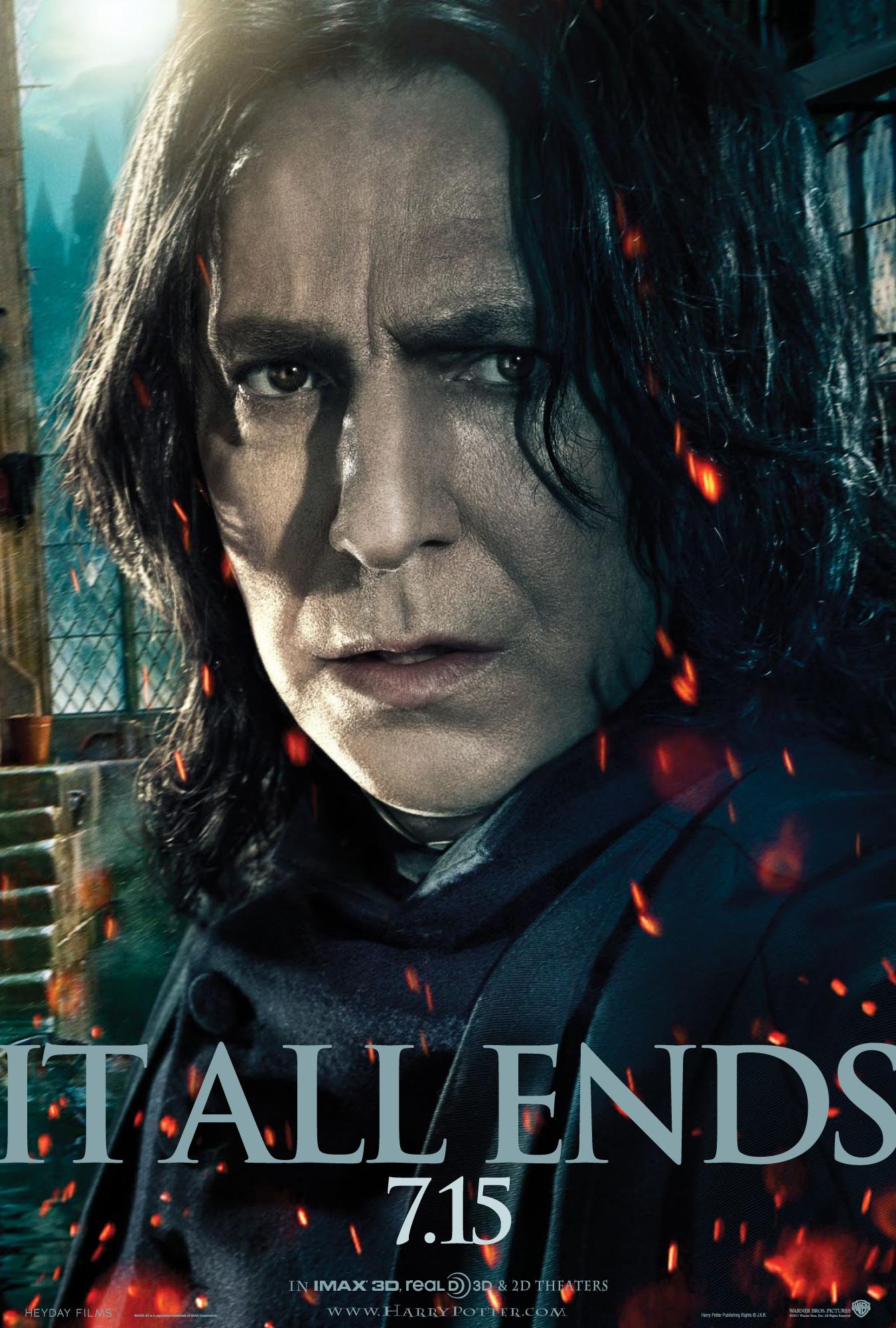 Poster Severus Snape