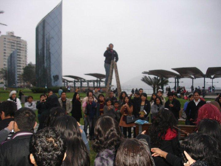 Harry Potter BlogHogwarts Flashmob Peru (1)