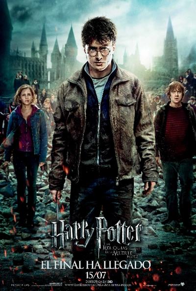 Harry Potter BlogHogwarts HP7 II Poster Final