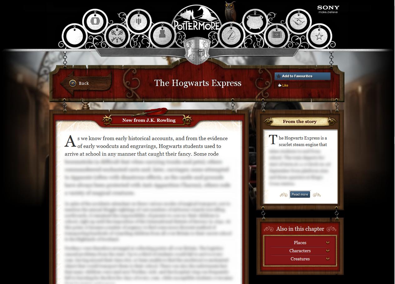 Harry Potter BlogHogwarts Pottermore 01