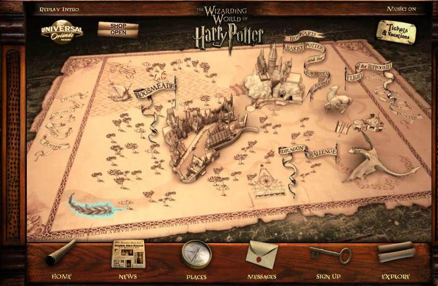 Harry Potter BlogHogwarts Pluma 6