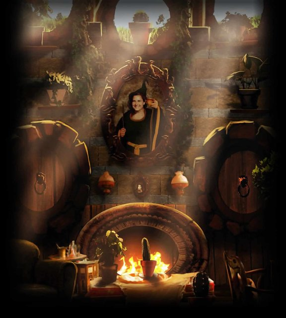 Sala común de Hufflepuff Harry-Potter-BlogHogwarts-Pottermore-3