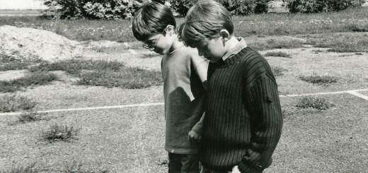 Daniel Radcliffe y Rupert Grint de niños