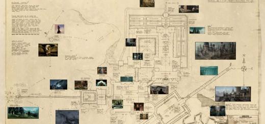 mapa hogwarts