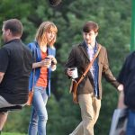 Daniel Radcliffe & Zoe Kazan's First Day At 'The F Word' Set