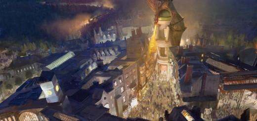 Harry Potter BlogHogwarts Callejon Diagon
