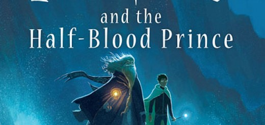 New Half-Blood Prince cover